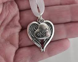 in loving memory charms memorial charm etsy