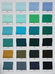 types of green color custom color chart for all types of silk cloud hunter