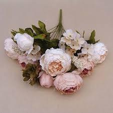 Fake Peonies 37 Best Bouquet Images On Pinterest Artificial Succulents Cheap