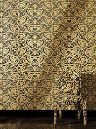 versace home barocco flowers luxury wallpaper 4 colourways