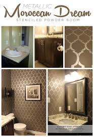 bathroom stencil ideas best 25 stencil walls ideas on diy stenciled walls
