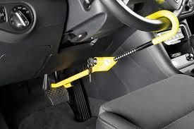 blocco volante auto kleinmetall antifurto per auto con barra di blocco a bloster
