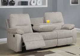 Fabric Reclining Sofa Funiture Modern Reclining Sofa Ideas For Living Room Using Beige