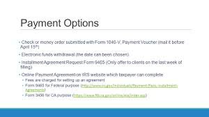 Ftb Power Of Attorney by Refund And Amount Of Tax Owed Ppt Download