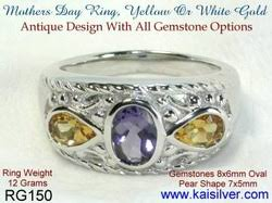 design a mothers ring mothers ring custom rings for in gold or silver kaisilver