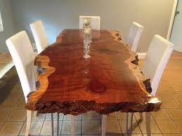 live edge wood slab tables table for two and more pinterest