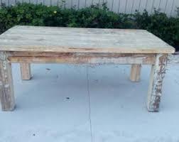 shabby chic table etsy
