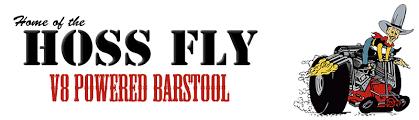 fly bar stool home of the hoss fly v8 powered barstool