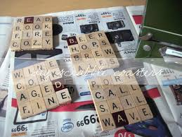 in the storm diy scrabble coasters