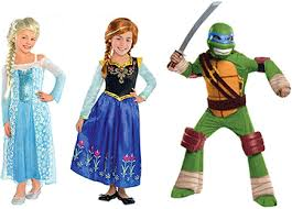 why frozen and tmnt are this halloween