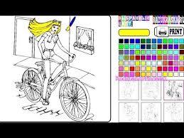 barbie coloring games