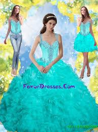 aqua blue quinceanera dresses beading and ruffles quinceanera dresses in aqua blue