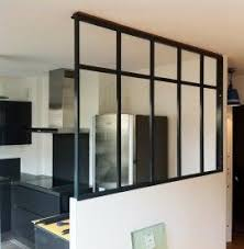 separation de cuisine en verre separation de cuisine en verre fabulous meuble bar separation