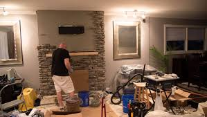 fireplace refacing 2013 youtube