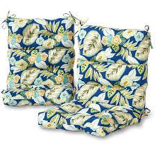 Highback Patio Chair Cushions Greendale Home Fashions Outdoor High Back Chair Cushions Set Of 2