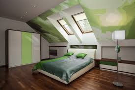 Decorating A Green Bedroom Bedroom Decorating Ideas With A Frame Ceilings Hunker