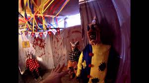scary clown haunted house ideas