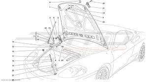 ferrari front drawing ferrari 360 challenge body parts at atd sportscars atd sportscars
