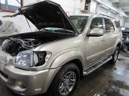used toyota sequoia parts parting out 2006 toyota sequoia stock 150427 tom s foreign