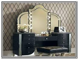 Makeup Vanity Canada Black Makeup Vanity With Lights The Hollywood Vanity Makeup