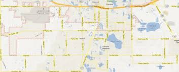 Lakeland Florida Map South Lakeland