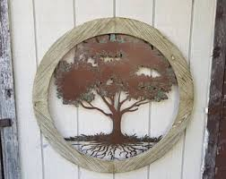 Wall Decor Metal Tree Tree Of Life Wall Decor Etsy