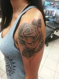 maymay realistic rose waterdrop realsitic maymay tattoosbymaymay