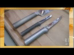 restoring brushed aluminum cutlery handles rick u0027s tips diy youtube