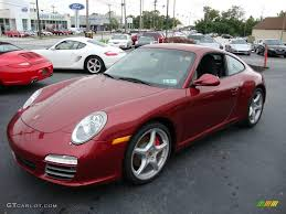porsche silver paint code 2009 ruby red metallic porsche 911 carrera 4s coupe 18154401