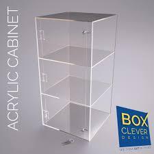 Acrylic Display Cabinet 600 X 300 X 300 Acrylic Display Cabinet From Boxcleverdesignltd On