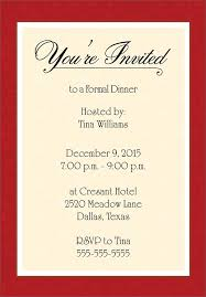 formal invitation stunning formal party invitation template especially different