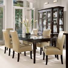 Large Dining Room Furniture Dining Room A Hypnotizing Large Glass Top Dining Room Table