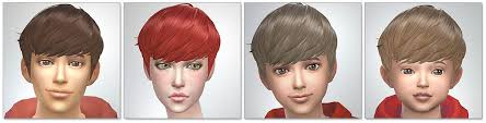 childs hairstyles sims 4 hairstyles updated kijiko