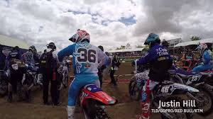 red bull motocross gear behind the scenes tld gopro red bullktm at hangtown classic mx