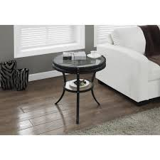 black glass top end tables acme furniture geiger rose gold and black glass top end table 81917