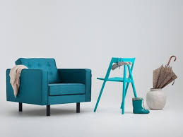 Buy Armchair Online Epic Modern Armchair With Buttons In Aqua Blue Funique Co Uk