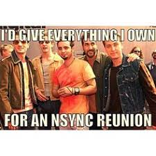Nsync Meme - image result for nsync happy birthday meme lol pinterest