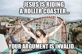 Roller Coaster Meme - jesus riding roller coaster imgflip