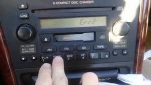1999 2003 acura 3 2tl radio error code repair