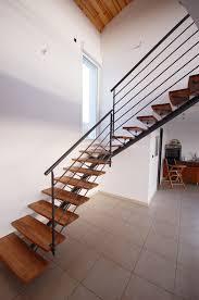 escalier bois design escalier métallique sur mesure avec marches bois à lyon escalier