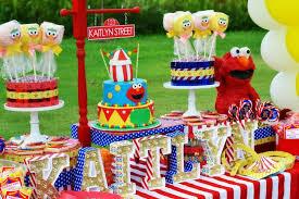 elmo birthday elmo circus party by schwaigert birthday express