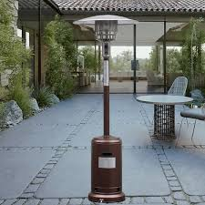 outdoor propane patio heaters amazon com giantex steel outdoor patio heater propane lp gas w