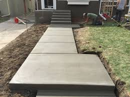 concrete stairs and walkway harold j pietig u0026 sons inc