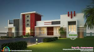 2200 sq ft feet elevation and 3d floor plan kerala home design