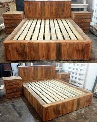 Recycled Bedroom Ideas Best 25 Pallet Bedroom Furniture Ideas On Pinterest Pallet