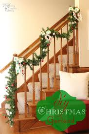 decorating ideas to make a garland