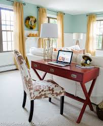 pretty fall home tour office workstations room and workspaces
