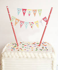 Happy Birthday Flags Vfeng Mini Happy Birthday Cake Bunting Banner Cupcake Topper