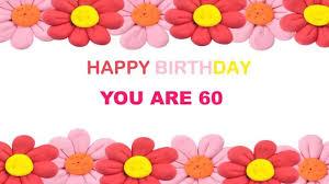 60 years birthday card 60 years birthday postcards postales