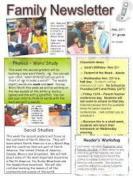 2nd grade family newsletter boston teachers union